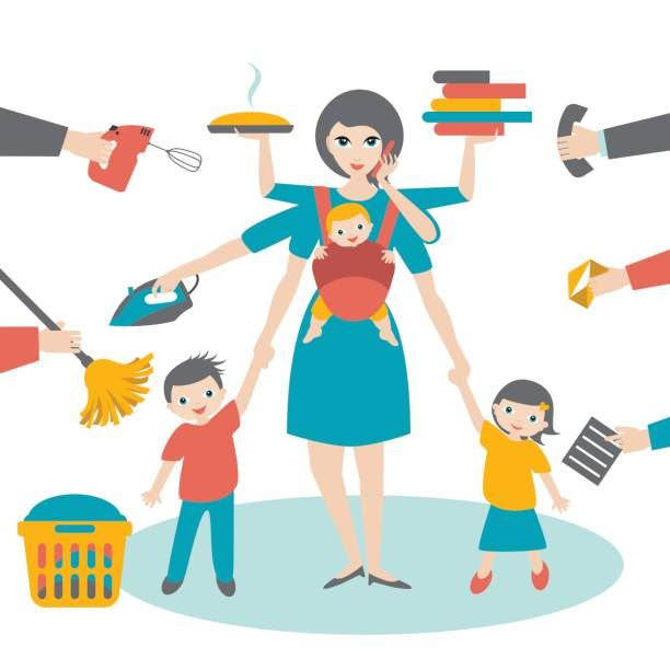 The average working mother…